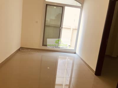 Nice 1- bedroom hall with back yard in khalifa city A .