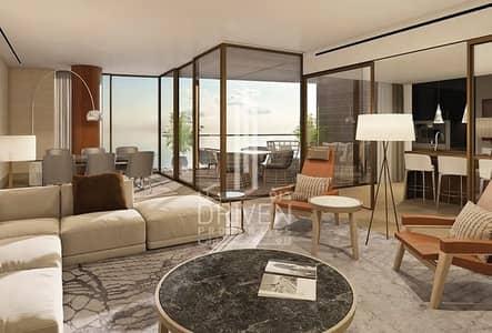 1 Bedroom Flat for Sale in Jumeirah, Dubai - Zero Commision Bvlgari Res. Spacious Sea View