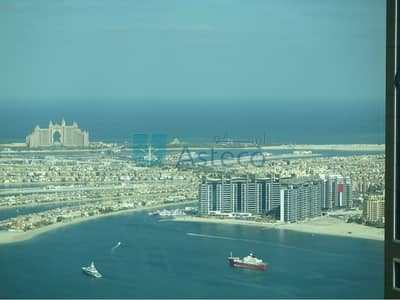 3 Bedroom Flat for Rent in Dubai Marina, Dubai - Furnished 3 Beds with Amazing Palm Views