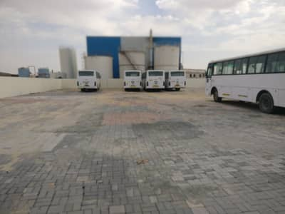 Industrial Land for Rent in Al Saja, Sharjah - 5000/10000/20000 Sqft Open yard 3 phase power office boundary wall in sajaa sharjah