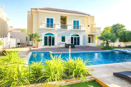 5 Bedroom Villa for Rent in Dubai Sports City, Dubai - Exceptional B1 l GC Views l Private Pool