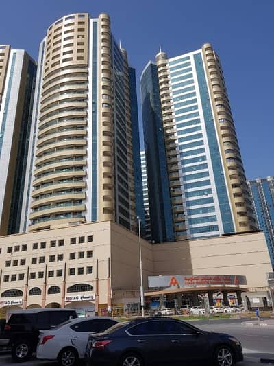 2 Bedroom Flat for Sale in Ajman Downtown, Ajman - 2 Bedroom Hall For Sale in Horizon Tower 1700 Sqft With Car Parking 410k Call Rawal