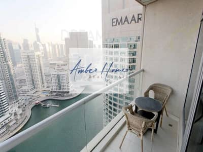 2 Bedroom Apartment for Rent in Dubai Marina, Dubai - Full Marina View | Chiller Free | 2BR | Very Well Maintained
