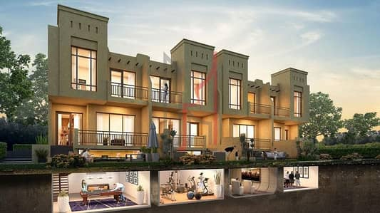 3 Bedroom Townhouse for Sale in Akoya Oxygen, Dubai - Cheapest Price in the Market for a 3BR Townhouse