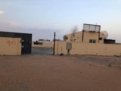 Industrial Land for Rent in Al Saja, Sharjah - 10000 sqft open yard 3 phase power office boundary wall in al bataya area sharjah