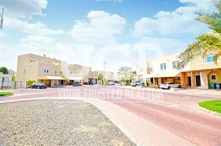 3 Bedroom Villa for Rent in Al Reef, Abu Dhabi - Double Row | Villa w/ Balcony and Garden