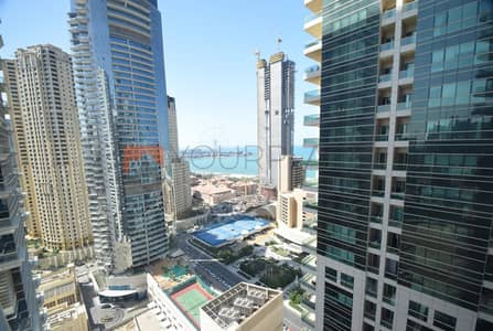 2 Bedroom Flat for Rent in Dubai Marina, Dubai - 2 BR|Sea View|Kitchen Equipped|Sky View