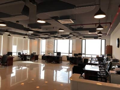 Office for Rent in Jumeirah Village Circle (JVC), Dubai - Fully Fitted and Partitioned OfficeSpace