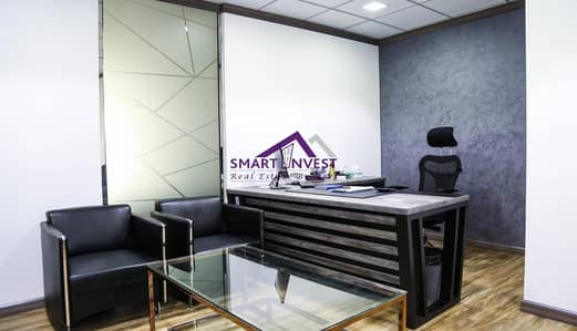 Fitted and Fully furnished office for rent in Karama AED35K/yr