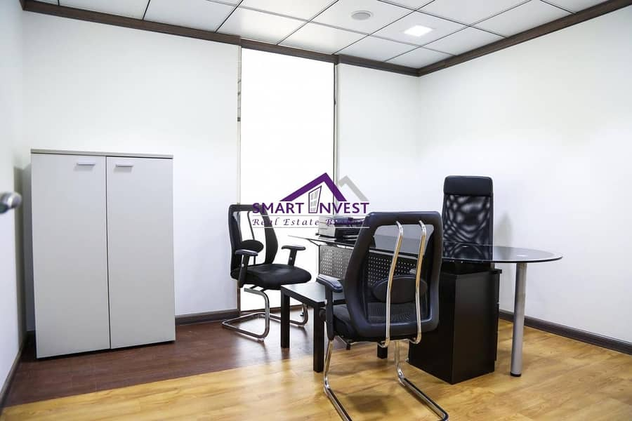 2 Fitted and Fully furnished office for rent in Karama AED35K/yr