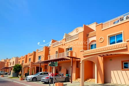 2 Bedroom Villa for Rent in Al Reef, Abu Dhabi - Classy 2 BR Mediterranean Villa w/ Study