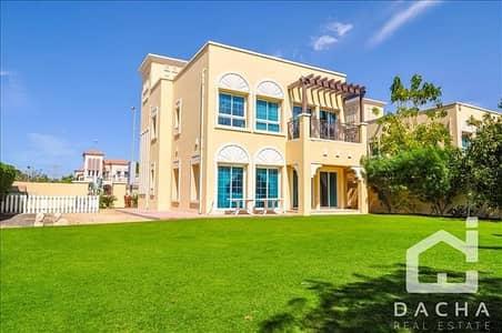 2 Bedroom Villa for Sale in Jumeirah Village Triangle (JVT), Dubai - CORNER UNIT / Unique 2Br + M / Large Plot