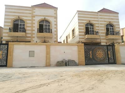5 Bedroom Villa for Sale in Al Mowaihat, Ajman - Villa has a sophisticated finishes suitable for all tastes close neighbor street with the possibilit