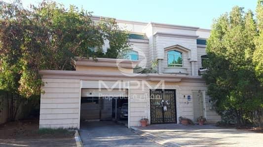 7 Bedroom Villa for Rent in Al Mushrif, Abu Dhabi - Excellent 7 Bedroom Villa with Maid's Room