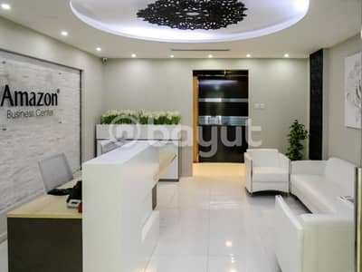 Office for Rent in Business Bay, Dubai - Fitted Sharing Offices @ Prime Location in Business Bay