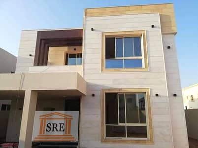 5 Bedroom Villa for Sale in Al Zahraa, Ajman - Villa for sale in Ajman a very beautiful European design