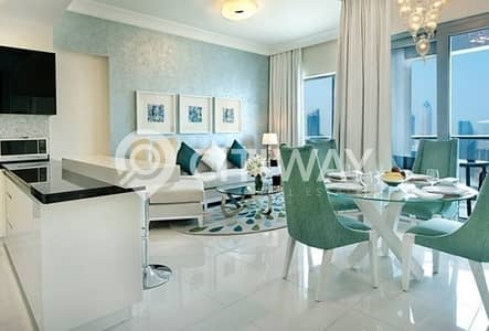 3 Bedroom Hotel Apartment for Rent in Business Bay, Dubai - Luxurious Home at Damac Maison The Vogue Downtown Dubai