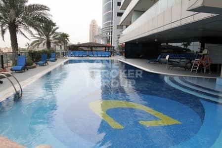 1 Bedroom Flat for Rent in Dubai Marina, Dubai - Two parking slots 1 Bedroom Unfurnished