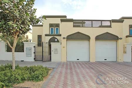 3 Bedroom Villa for Rent in Jumeirah Park, Dubai - Single Row   Landscaped   District Six