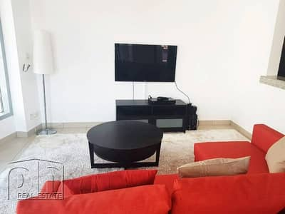 1 Bedroom Flat for Rent in Dubai Marina, Dubai - Largest One Bedroom / Fully Furnished / Available
