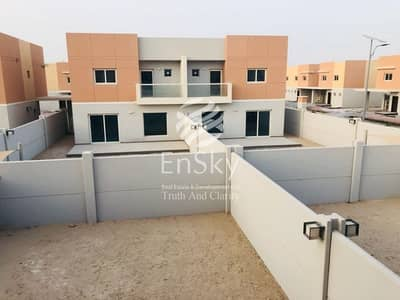 3 Bedroom Villa for Rent in Al Samha, Abu Dhabi - Brand New 3 Bedroom Villa with Maids Room Available!