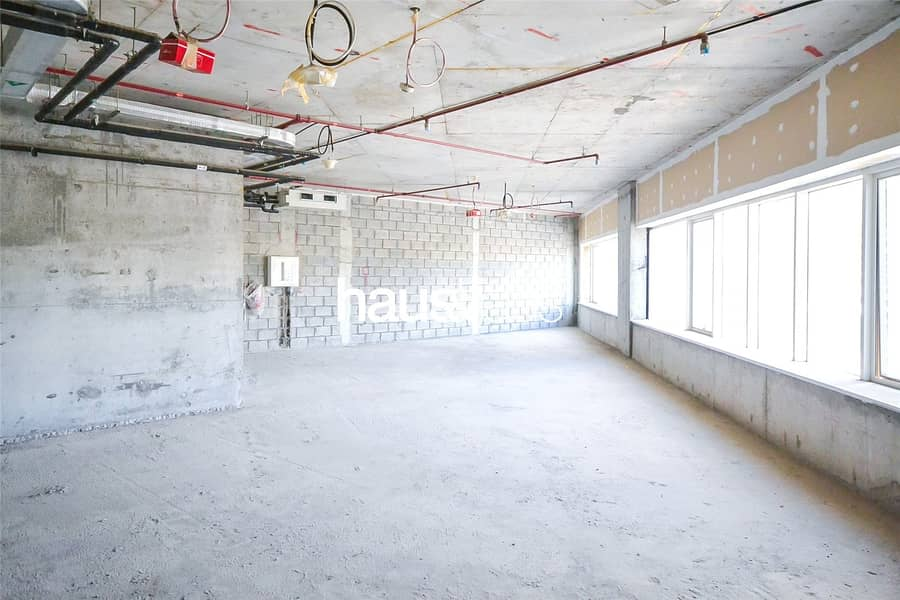 2 Full Floor| Shell and Core| Can Be Split