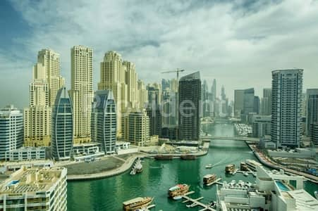 2 Bedroom Apartment for Sale in Dubai Marina, Dubai - Investors Deal|Full Marina View|Tenanted
