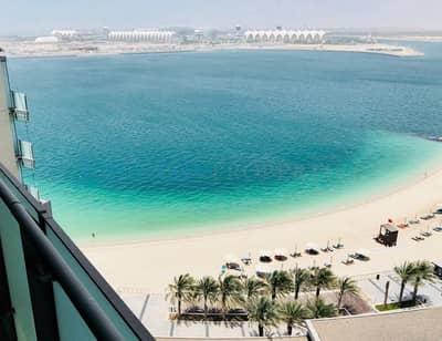 فلیٹ 2 غرفة نوم للايجار في شاطئ الراحة، أبوظبي - Hot deal Sea View 2 bedroom  high floor