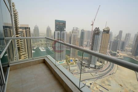 2 Bedroom Apartment for Sale in Dubai Marina, Dubai - High Floor I Rented  2 B/R I Marina View