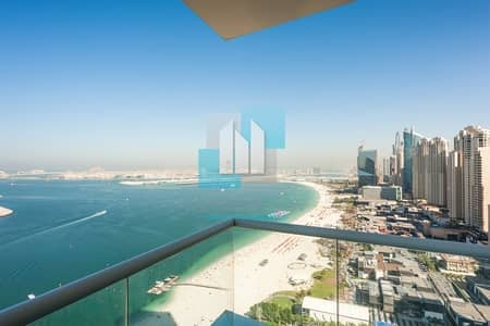 3 Bedroom Apartment for Sale in Jumeirah Beach Residence (JBR), Dubai - Apartment With Full Sea And Panoramic View