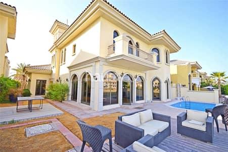 4 Bedroom Villa for Sale in Palm Jumeirah, Dubai - Vacant || Atrium Entry || Skyline Facing
