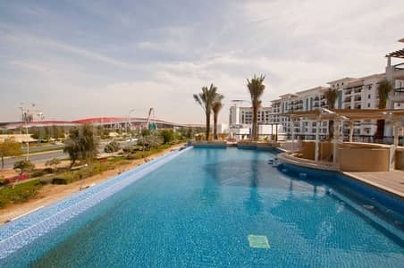1 Bedroom Flat for Sale in Yas Island, Abu Dhabi - Time to Buy! 1BR Ansam at 1.255M