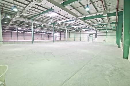 Warehouse for Rent in Mussafah, Abu Dhabi - Finest Deal! Huge Well Located Warehouse
