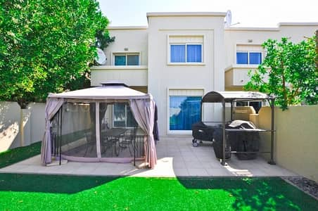 4 Bedroom Villa for Rent in Al Reef, Abu Dhabi - 4 B/R Single Row Corner Extended Garden