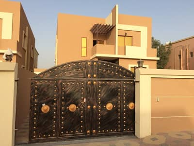 5 Bedroom Villa for Sale in Al Mowaihat, Ajman - Brand new villa Two Floors with good finish and design opposite of camel race