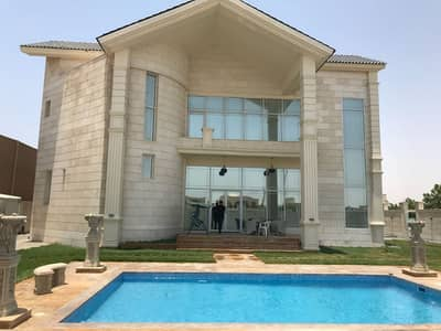 4 Bedroom Villa for Sale in Al Jurf, Ajman - Brand new Villa With Electricity And Water In Jurf For UAE people