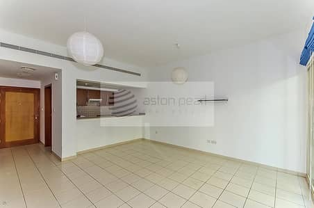 2 Bedroom Flat for Rent in The Greens, Dubai - Well Maintained | 2 Bed | Community view