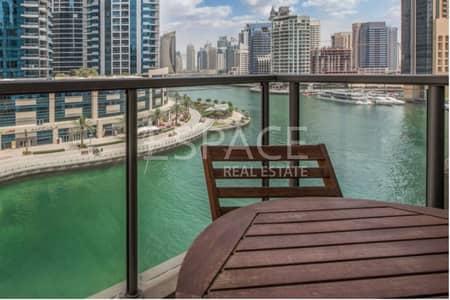 1 Bedroom Apartment for Sale in Dubai Marina, Dubai - Unique 1 Bed Plus Study with Marina View
