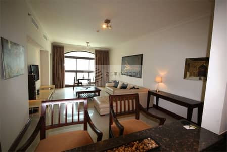1 Bedroom Flat for Rent in Palm Jumeirah, Dubai - Fully Furnished 1BR and Ready to Move in