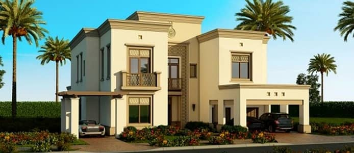 5 Bedroom Villa for Sale in Arabian Ranches 2, Dubai - Ready Villa By installment of 1% per month over 8 years.