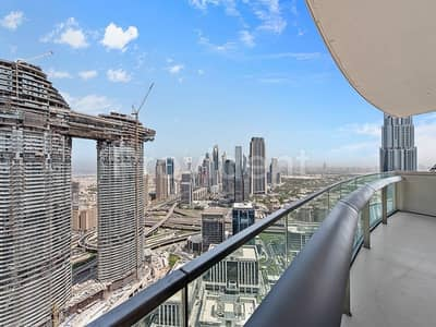 3 Bedroom Flat for Rent in Downtown Dubai, Dubai - Exclusive! 3BR on a High Floor| Sea View
