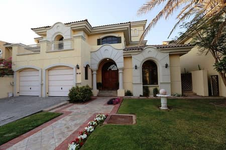 5 Bedroom Villa for Rent in Palm Jumeirah, Dubai - Fully Furnished l Lovely and Luxury 5 Bedroom Villa plus maid for Rent in Palm Jumeirah