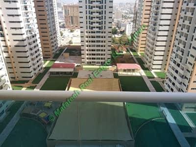 2 Bedroom Flat for Rent in Al Sawan, Ajman - Ajman One Tower - 2BHK - Parking - Middle Floor - 1342 Sqft - 35,000/=