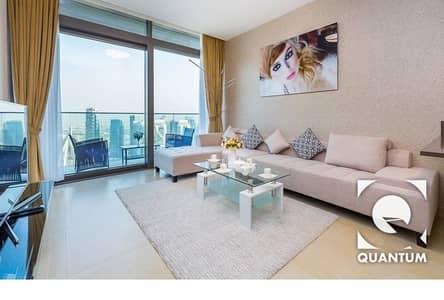 2 Bedroom Apartment for Rent in Dubai Marina, Dubai - High Floor | Stunning Views | Furnished.
