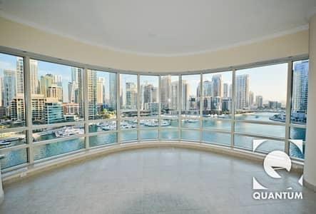 2 Bedroom Apartment for Rent in Dubai Marina, Dubai - Exclusive I Upgraded I Full Marina Views