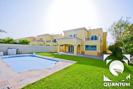 4 Bedroom Villa for Rent in Jumeirah Park, Dubai - Bright And Spacious|Good Condition| Pool