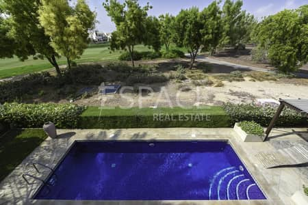 4 Bedroom Villa for Rent in Jumeirah Golf Estate, Dubai - Golf Course View - Private Pool - 4BR + M