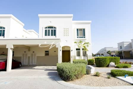 2 Bedroom Townhouse for Rent in Al Ghadeer, Abu Dhabi - 4 Chq 2 BR Townhouse with Elegant finish