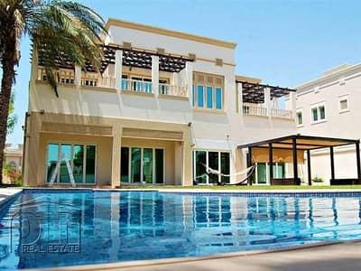 فیلا 6 غرفة نوم للبيع في تلال الإمارات، دبي - Huge R sector villa with Full Golf Views