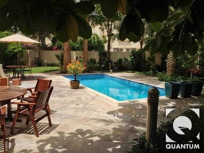 3 Bedroom Villa for Rent in The Springs, Dubai - Upgraded Modified Private Pool | Vacant